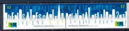 ARGENTINA * SERIE 2v YEAR 2011 * BUENOS AIRES BOOK CAPITAL * MNH - Ungebraucht