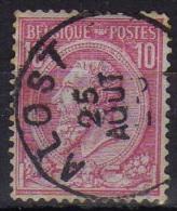 46 Alost - 1884-1891 Léopold II