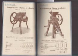 Catalogue - Agriculture - Instruments D'intérieur De Ferme - Original Melichar : Scie, Meule, Baratte, Moulin... - Livres, BD, Revues