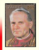Zaire 1281**  50z  Jean-Paul II   MNH - 1980-89: Neufs