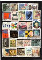 Lot De 61 Timbres Français ( Oblitérés ,décollés  ,voir Photos )P1 - Collections