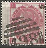 G-BRETAGNE N� 33 FILIGRANE  TIGE DE ROSE / PL 6 OBL TTB