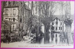 Cpa Environs De Pacy Sur Eure Chocolaterie Lavril Carte Postale 27 Eure Proche St Aquilin Chaignes Croisy Ménilles - Pacy-sur-Eure