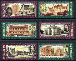 ROMANIA 2007 Old Bucharest Set Of 6  MNH / **.  Michel 6192-97 - 1948-.... Republics