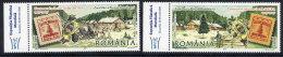 ROMANIA 2007 Stamp Day Set Of 2 MNH / **.  Michel 6221-2 - 1948-.... Republics