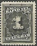 ETAT-UNIS TELEGRAPHE N° 52 NEUF* TB / CHARNIERE - Telegraph Stamps
