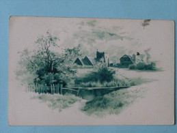 Paysage - Cartolina Postale Con Risposta - Fantaisies
