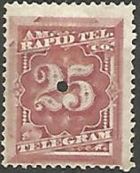 ETAT-UNIS TELEGRAPHE N° 58 NEUF*  TB / CHARNIERE - Telegraph Stamps