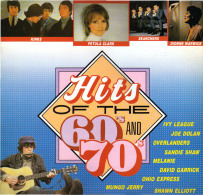 * LP *  HITS OF THE 60's AND 70's - KINKS / SEARCHERS / MELANIE / DONOVAN A.o. (France 1984 EX!!!) - Compilaties