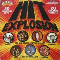 * LP *  HIT EXPLOSION - SWEET / SMOKIE / MUD / SUZIE QUATRO A.o. - Compilaties