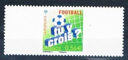 France 2012 - Réf. 1 - Timbre Poste Avec Réponse Payée Recto Verso - Football - Tu Y Crois, à Fond - Neuf** - France