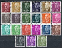 España 1955. Edifil 1143/63 ** MNH - 1931-Today: 2nd Rep - ... Juan Carlos I