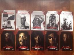 The Walking Dead Movie Fiction Magazine FULL SET Lot De 10 Cartes Postales Spectacular - Publicité