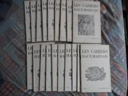 LOT DE 19   LES CAHIERS HAUTS MARNAIS - Journaux - Quotidiens