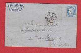 Facture  //  De Libourne  //  Pour Plancort  //  20 Septembre 1873 - 1849-1876: Période Classique