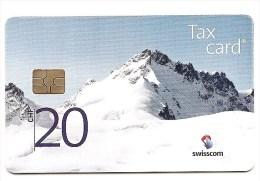 Switzerland / Suisse - CHIP  - CHF 20 Mountain / Montagne