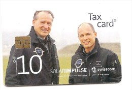Switzerland / Suisse - CHIP  - CHF 10 Solar Impulse