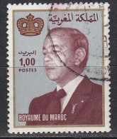 Marocco, 1983 - 1d King Hassan II  - Nr.520 Usato° - Marocco (1956-...)
