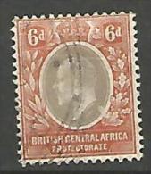 AFRIQUE CENTRALE   N� 62 OBL TTB