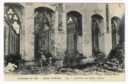 I2390 Ypres Ieper - La Grande Guerre - Interieur Des Halles / Non Viaggiata - Ieper