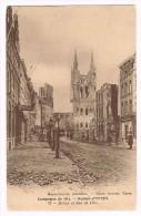I2394 Ypres Ieper - La Grande Guerre - Halles Et Rue De Lille / Non Viaggiata - Ieper