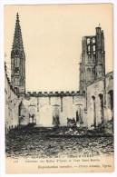 I2395 Ypres Ieper - La Grande Guerre - Interieur Des Halles Et Tour Saint Martin / Non Viaggiata - Ieper