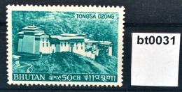 Bt0031 Trongsa Dzong, Tongsa, Festung, Distrikt-Verwaltung, Bhutan 1968 ** - Bhután