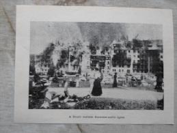Italia Bolzano Bozen - Hotel Karersee Fire - Incendie -  Hungarian Newspaper Print  1910 UI1910-KA1008.4 - Documenti Storici