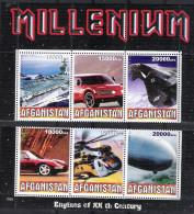 Tim 184 Millenium Porte Avion Aircraft Carrier Voiture Car Auto Avion Porsche Helicoptere Helicopter Dirigeable Zeppelin - Afghanistan