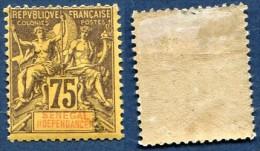 Colonie Française, Sénégal N°19*, Qualité Beau+ - Sénégal (1887-1944)
