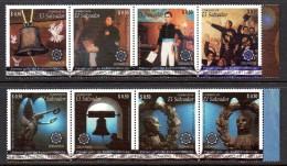 Salvador 1812/19 Bicentenaire De L'Indépendance , Cloche , Ange - Geschiedenis