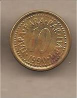 Jugoslavia - Moneta Circolata Da 10 Para - 1990 - Yugoslavia