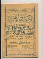 Catalogue H. Rougié & Plé - Fournitures Pour Gainiers, Maroquiniers, Bijoutiers, Orfèvres , Graveurs - Bricolage / Technique