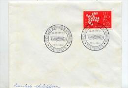 Lettre Cachet Vincennes Circuit Aviation - Marcophilie (Lettres)