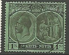 ST-CHISTOPHE NEVIS & ANGUILLA N� 53  OBL TTB