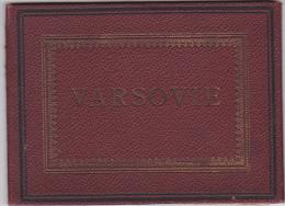Poland - Varsovie - Photo Album  Sec XIX - 16 Views - 160x115mm - Fotografia