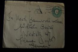 A257 INDIEN INDIA  => Plauen Vogtland - Briefe