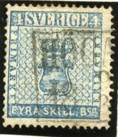 1855   4 Skill Armoirie, 2 Ø, 3 Signatures, Cote 100 €, - Oblitérés