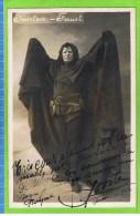Joosten, Premi�re basse de grand Op�ra, in ' Faust' Th�atre Royal d�Anvers 1912  ; Autographe
