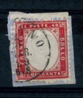 Italia - 1862 - Usato/used - Vittorio Emanuele II - Mi N. 11 - 1861-78 Vittorio Emanuele II