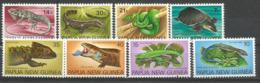 PAPOUASIE.Tortue à Nez De Cochon, Python Vert,varan Crocodile,scinques.etc. Deux Séries Complètes Neuves ** Côte 15,00 € - Reptiles & Batraciens