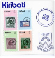 Kiribati - 1979 - Nuovo/new - Francobollo Su Francobollo - Mi Block 6 - Kiribati (1979-...)