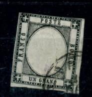 Napoli - 1861 - Usato/used - Vittorio Emanuele II - Un. N. 12 - Naples