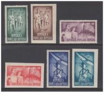 Romania - 1948 - Nuovo/new - Sport - Mi N. 1171/76 - Ongebruikt