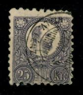 Ungheria - 1871 - Usato/used - Re Francesco Giuseppe - Mi N. 13 - Ungheria
