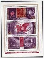 URSS - 1973 - Usato/used - Spazio - Mi Block 86 - Space