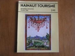 HAINAUT TOURISME N° 246 Régionalisme Mons Neufvilles Germain Joseph Hallez De Croy Louvignies Dudant Gallait Nimy - Cultuur