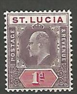 ST-LUCIE N�  42 NEUF* TTB / TRACE DE CHARNIERE