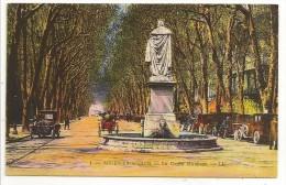 13 - AIX-EN-PROVENCE - Le Cours Mirabeau - éd. LL N° 1 Colorisée - 1920 - Vieilles Voitures - Aix En Provence