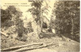 71/ CPA - Uchon - Ruines Du Chateau De Toulongeon (carte Rare) - Andere Gemeenten